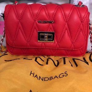 Red Mario Valentino shoulder bag